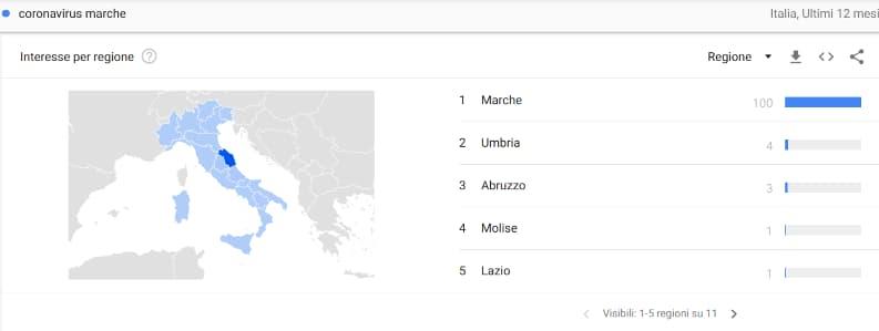 Grafico Interesse Per Regione Google Trends