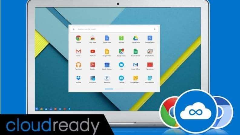 Cloudready Installazione Chrome OS
