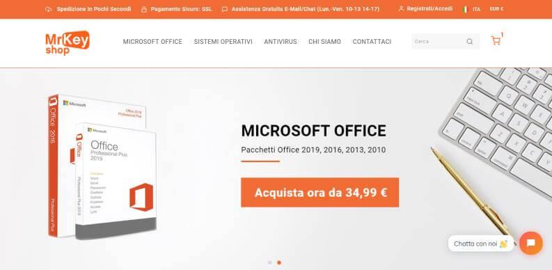 Dove acquistare Microsoft Office MrKeyShop