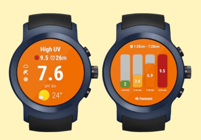 UV Meter Android Wear