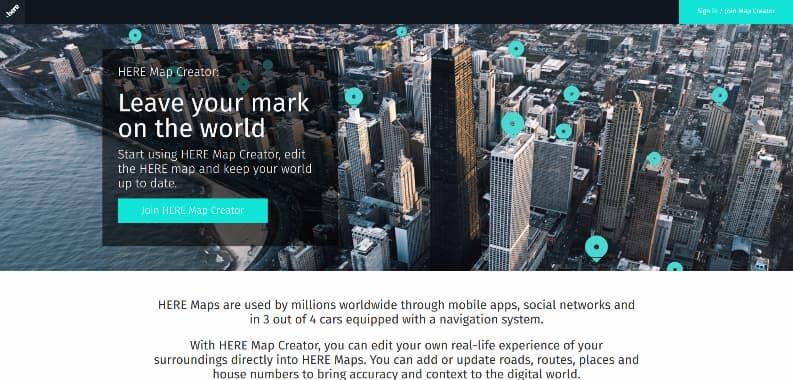 Here Map Creator