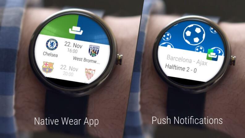 Migliori app per smartwatch Android Wear OS: Sofa Score