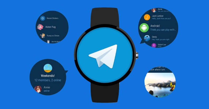 Migliori app per Android Wear OS: Telegram