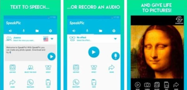 SpeakPic Deepfake (Android)