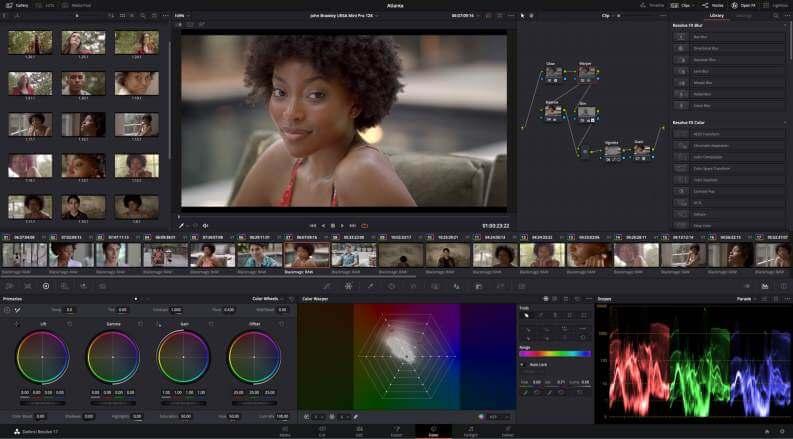 Video Editing Gratis DaVinci Resolve
