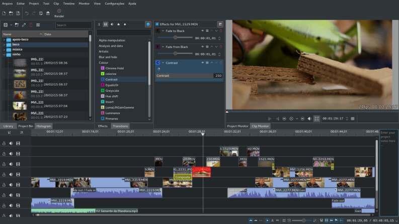 Video Editing Gratis KDEnlive
