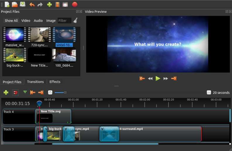 Video Editing Gratis OpenShot