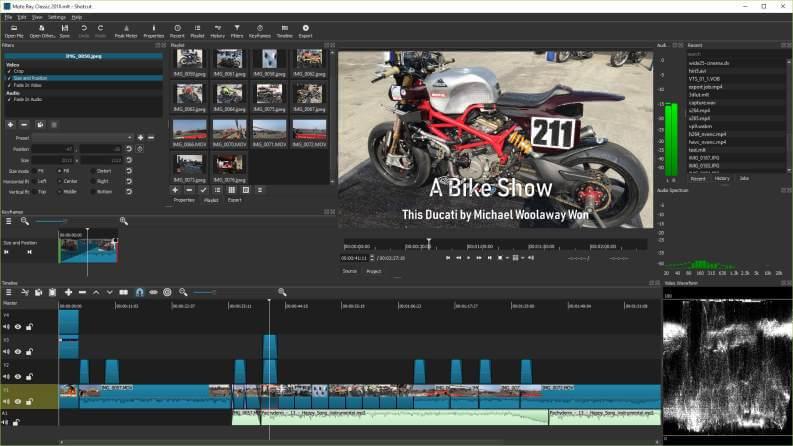 Video Editing Gratis ShotCut