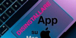 Disinstallare App Mac