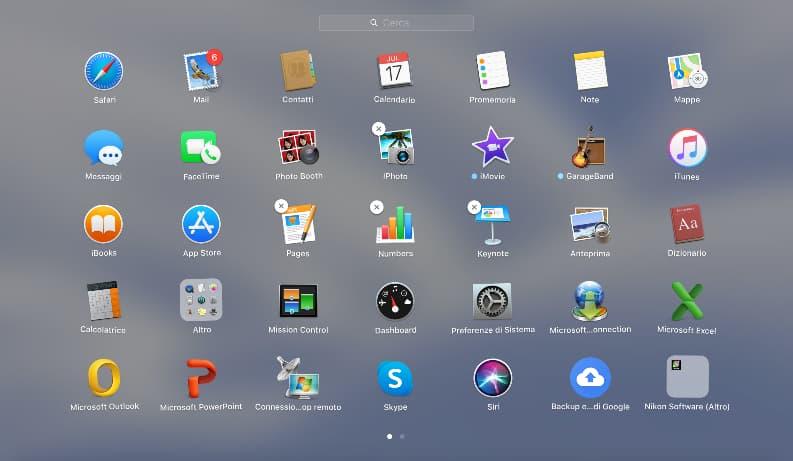 Disinstallare App Mac Con Launchpad