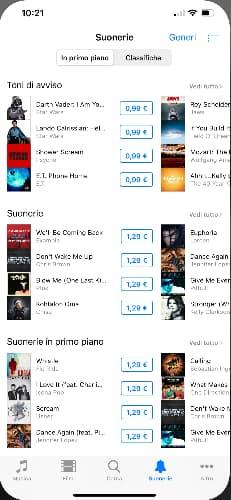 Mettere Canzone Come Suoneria Su Iphone Itunes Store 01