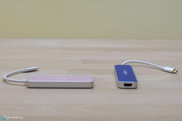 XIDU PhilPort USB C Hub Multiport Adapter 6 In 1