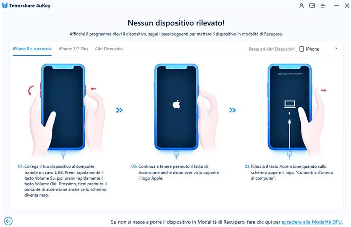 Attivare La Modalita DFU Iphone