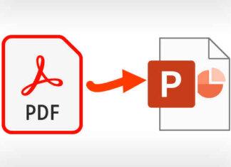 Convertire PDF In PPT PPTX