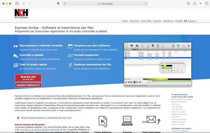 Download Express Scribe Mac