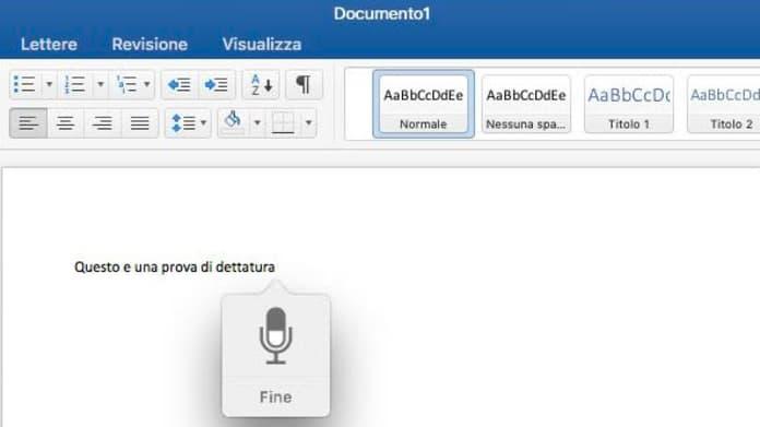 Trascrivere Registrare Audio Su Word Sotto Dettatura