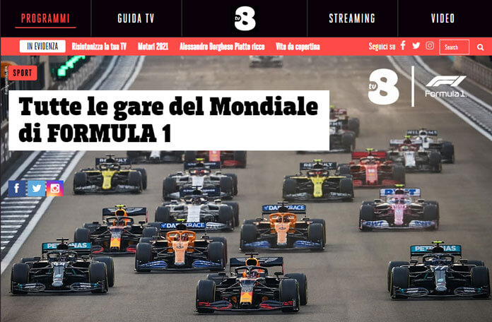 Tv8 Formula 1