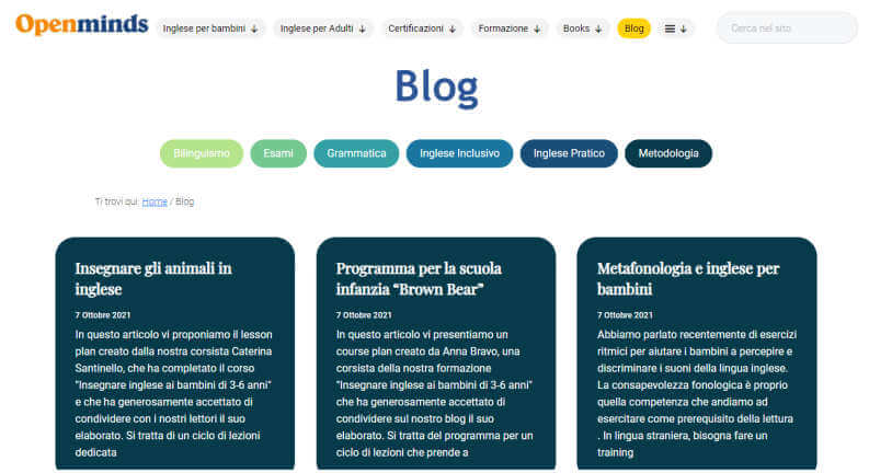 Open Minds Blog