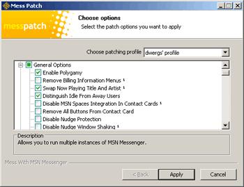 Mess Patch per Windows Live Messenger 8.1.0178