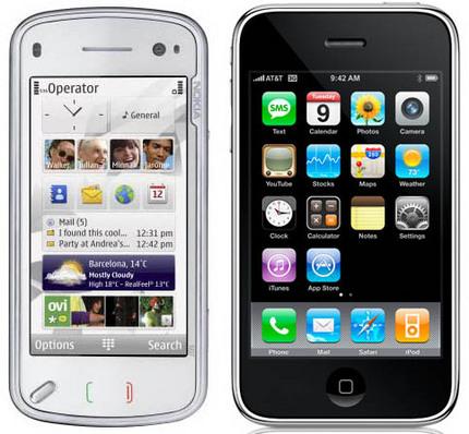 n98 vs iphone