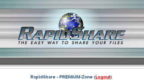 rapidshare easy way to share files