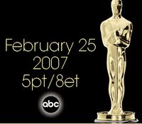 oscar 2007 25 febbraio