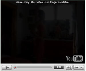 Visualizzare i video di Youtube rimossi