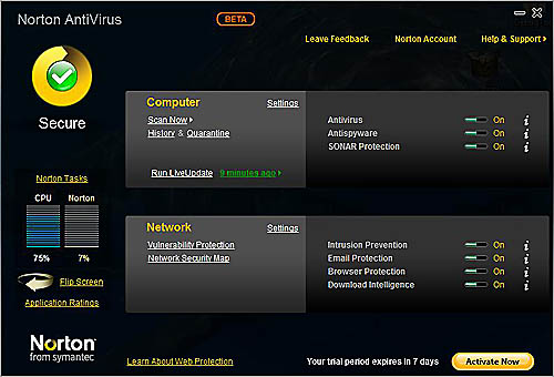 Download Norton AntiVirus 2010 Beta