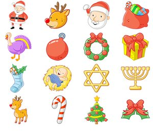 altre icone natalizie