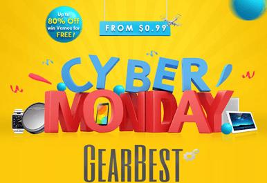 offerte cyber monday Gearbest